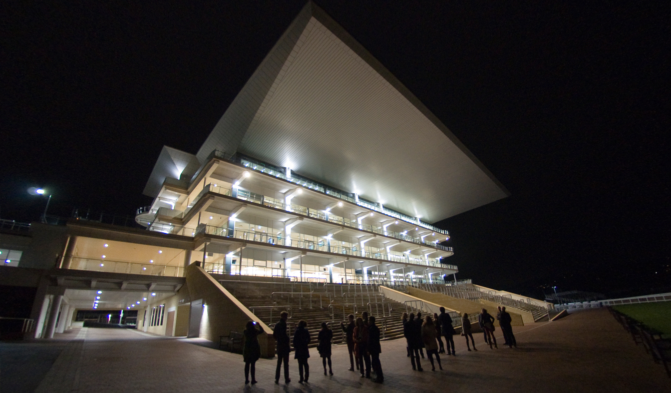 Cheltenham Racecourse with Roberts Limbrick