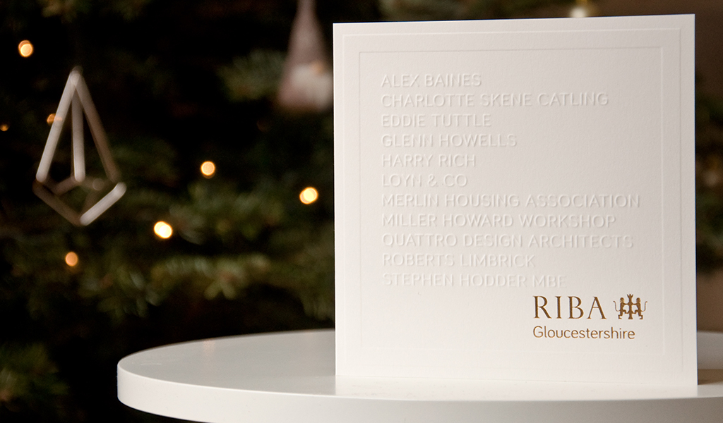 RIBA Gloucestershire Christmas Card