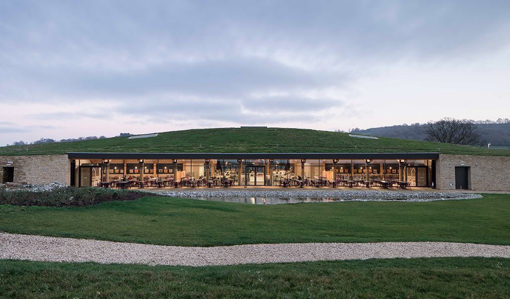 Gloucester Services by Glenn Howells Architects