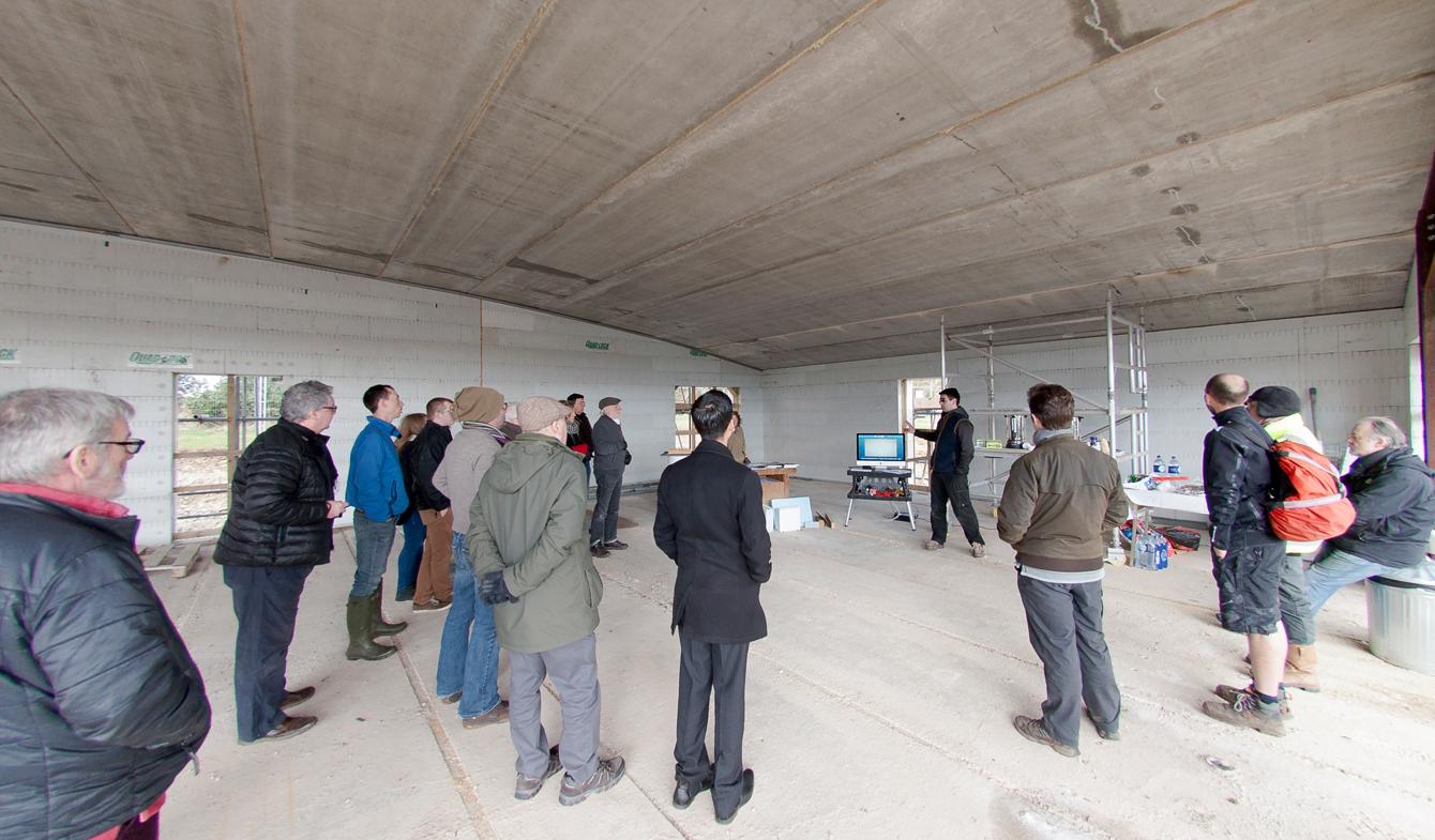 Longbarrow Passivhaus by IID Architects