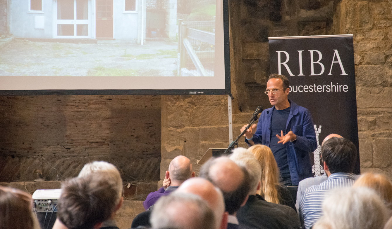 Piers Taylor Guest Lecture at Gloucester Blackfriars