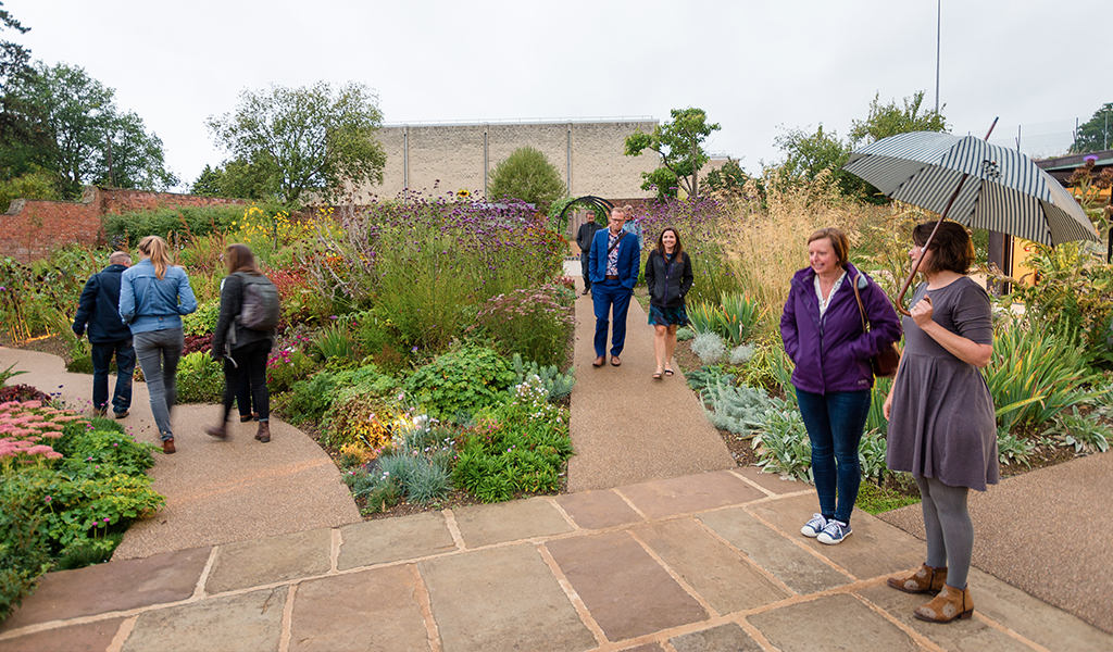 Walled Garden with Austin Design Works