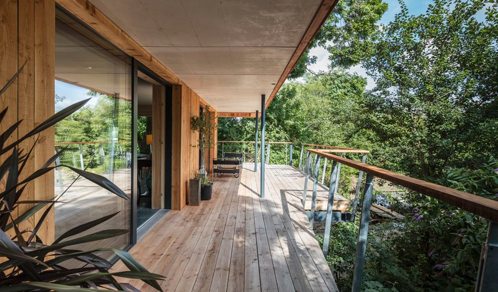 Dursley Treehouse by M+H Workshop