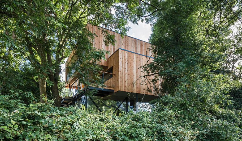 Dursley Treehouse by M+H Workshop