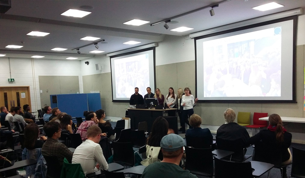 Quattro Design Architects & Bristol UWE Architecture Students present at the RIBA Mentor Wrap-Up Event