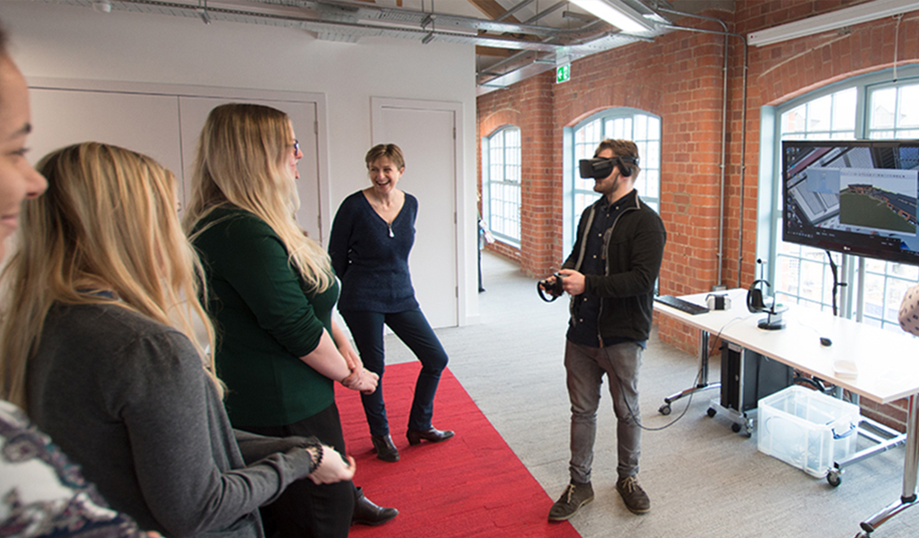 RIBA Student Mentoring Scheme: Virtual Reality with Quattro Design Architects