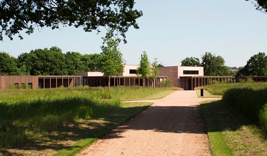 Bushey Cemetery by Waugh Thistleton Architects